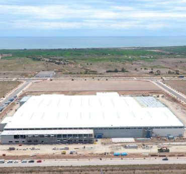 Fábrica de bases metálicas para Crown Holdings en Sagunto